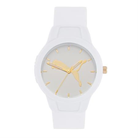 Reset Polyurethane V2 Women's Watch, White/White, small-IND
