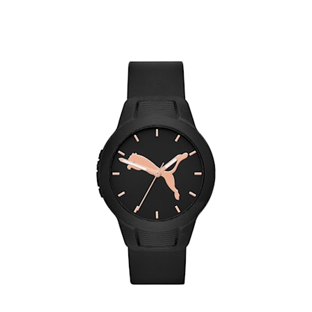 Reset Polyurethane V2 Women's Watch, Black/Black, small