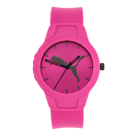 Reset Polyurethane V2 Women's Watch, Pink/Pink, small-IND