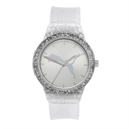 Reset Polyurethane V2 Women's Watch, Silver/Silver, small-IND