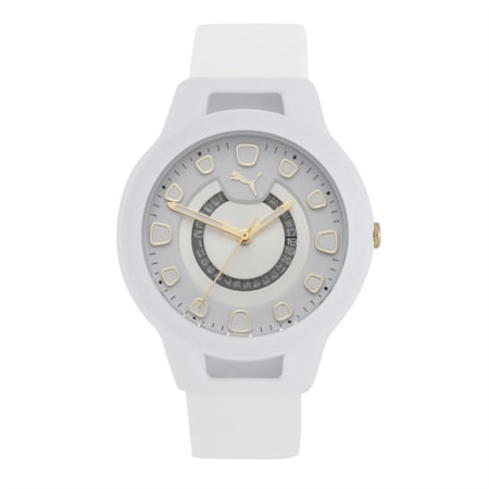 Reset Silicone V1 Women's Watch, White/White, small-IND