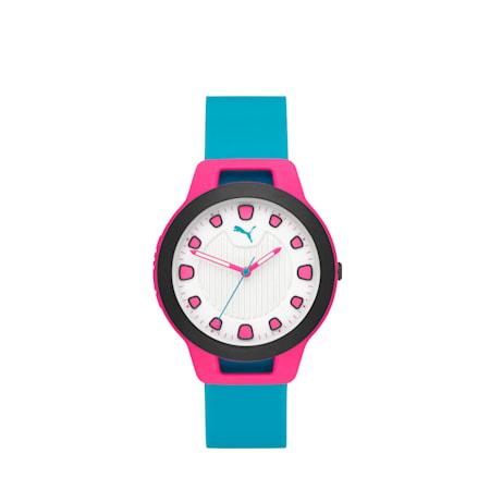 ウィメンズ リセット シリコン V1  時計, Pink/Blue, small-JPN