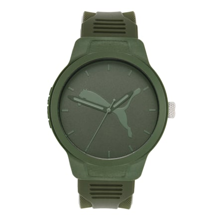 Reset Polyurethane V2 Men's Watch, Green/Green, small-IND