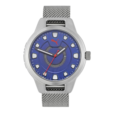 Reset Stainless Steel V1 Men's Watch, Silver/Silver, small-IND