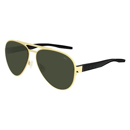 Vista Aviator Sunglasses, GOLD, small