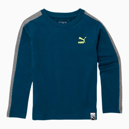 Luxe Pack Toddler T7 Long Sleeve Tee, GIBRALTAR SEA, small