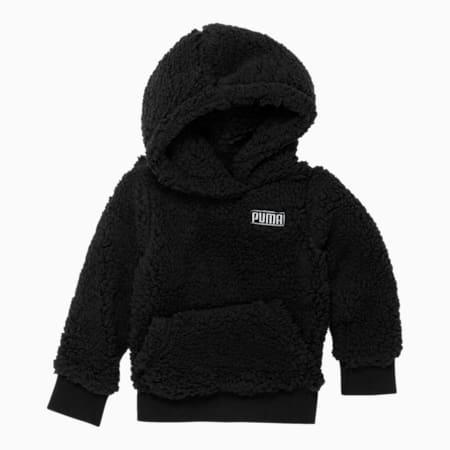 Sherpa Pack Toddler Hoodie, PUMA BLACK, small