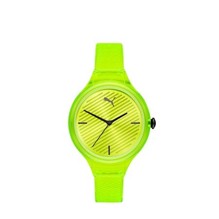 CONTOUR Ultra Slim Women's Watch, Yellow/Yellow, small