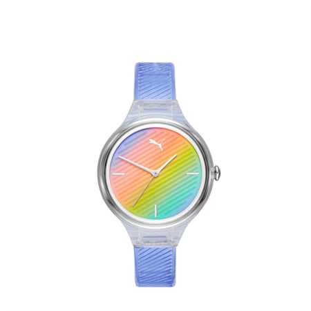 CONTOUR Ultra-Slim Damen Uhr, Purple/Multi, small