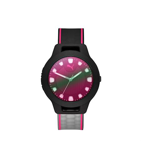 Reloj Reset v1 en degradé, Negro/Rosado, pequeño