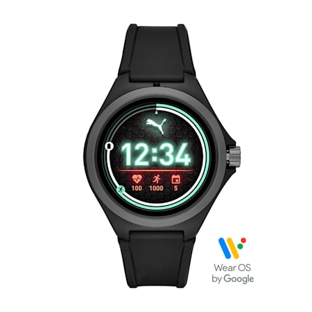 Montre Smartwatch PUMA Gen 4 Heart Rate (noire), Black/Gray, small
