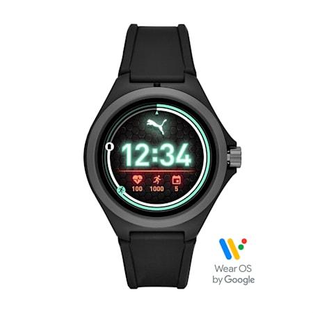 ユニセックス スマートウォッチ RD BLK BLK STR 時計, Black/Gray, small-JPN