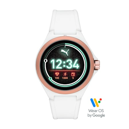 Montre Smartwatch PUMA Gen 4 Heart Rate (blanche), White/Rose gold, small