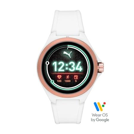 PUMA Smartwatch, White/Rose gold, small