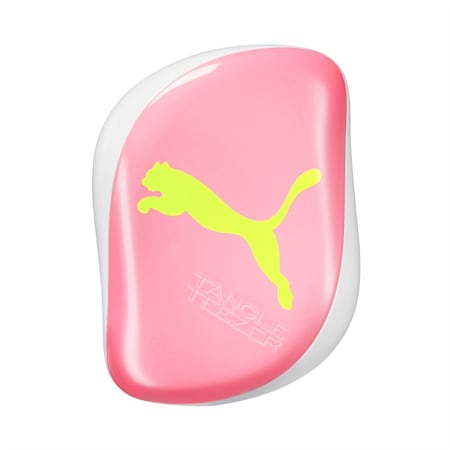 PUMA X Tangle Teezer Compact Styler, Neon-Yellow-Pink, small