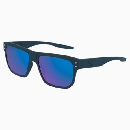 Sonnenbrille Rubber-Eyes, BLUE-BLUE-BLUE, small