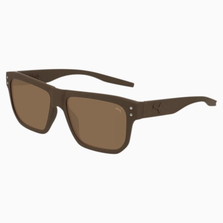 Sonnenbrille Rubber-Eyes, BROWN-BROWN-BROWN, small