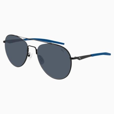 Sonnenbrille Hybrid v3, BLACK-BLACK-BLUE, small