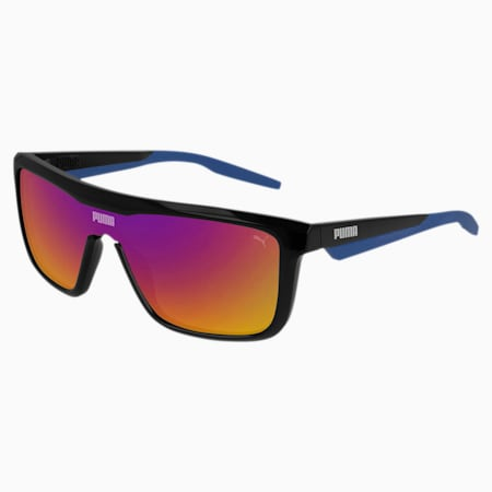 Sonnenbrille Made to Move, BLACK-BLACK-BLUE, small