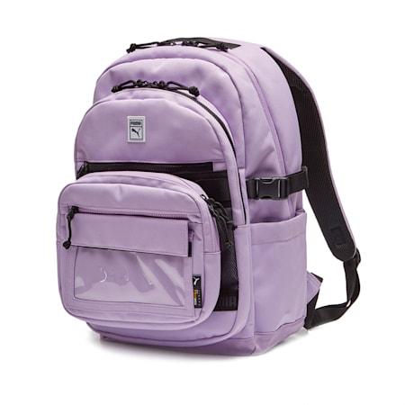 투웨이 파우치 백팩, purple heather, small-KOR