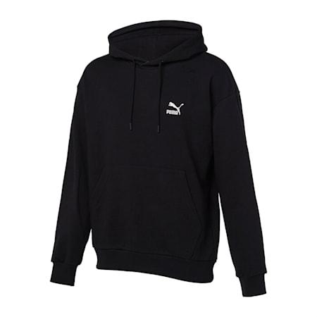 클래식 엠보 로고 후드 티/Classics Emb Logo Hoody, puma black, small-KOR