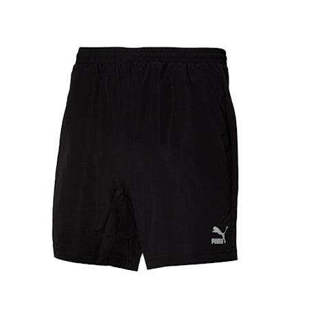 클래식 우븐 쇼츠 반바지, puma black, small-KOR