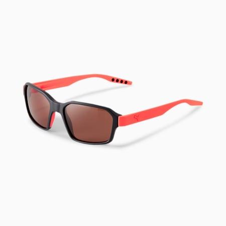 Gafas de solRubberEyes Pro v2 para hombre, BLACK-ORANGE-BROWN, pequeño