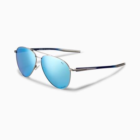 Arrow-Speed Men's Sunglasses, RUTHENIUM-BLUE-BLUE, small