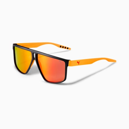 Rubber Eyes Pro v1 Herren Sonnenbrille | BLACK ORANGE RED