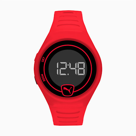 Forever Faster Red Digital Watch, Red/Black, small