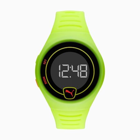 Forever Faster Yellow Digital Watch, Fizzy Yellow/Black, small