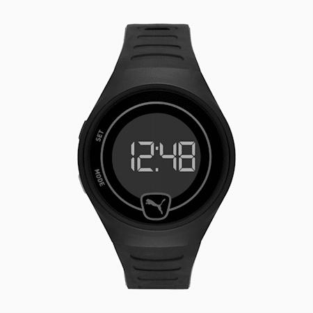 Montre-bracelet numérique FOREVER FASTER Unisex, Black/Black, small