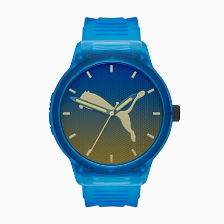 Reset v2 Blue Iridescent Watch, Blue/Multi, small