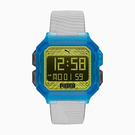 REMIX Unisex horloge, Gray/Multi, small