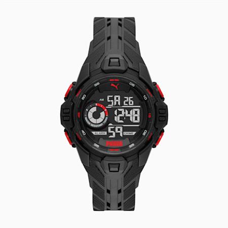 BOLD DIGITAL Herren Uhr, Black/Black, small