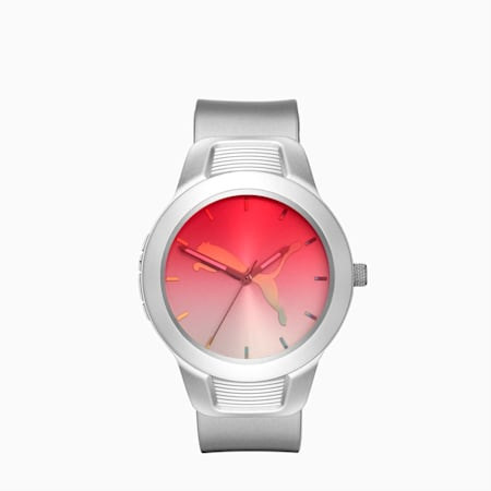 Reset v2 Gradient Watch, Silver/Pink, small