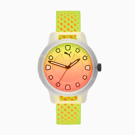 Reset v1 Knit Watch, Clear/Multi, small