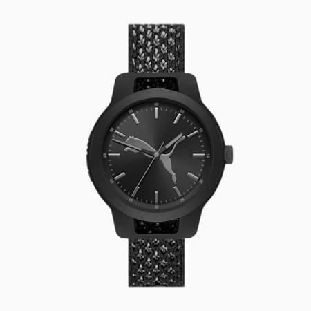 Reset Knit Men's Watch, Black/Multi, small