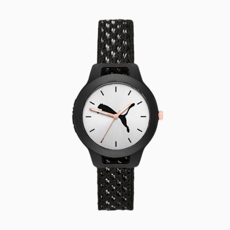 Reset Knit Women's Watch, Black/Multi, small