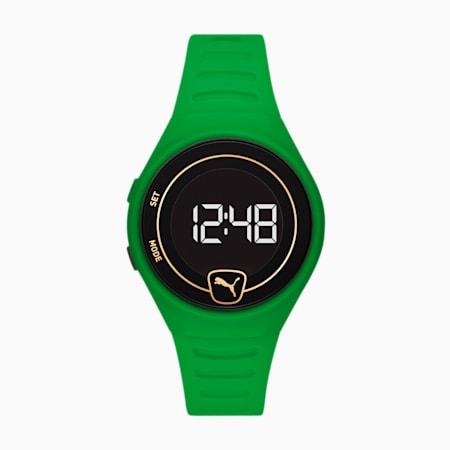 Orologio Forever Faster Special Edition in poliuretano unisex, Green/Green, small