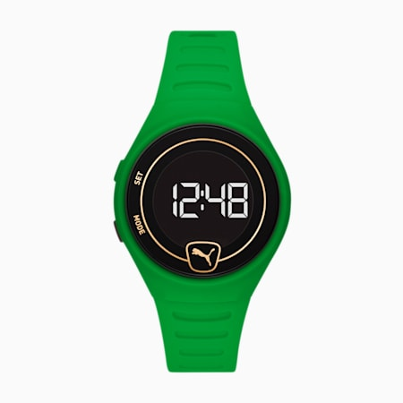 Special Edition Forever Faster Polyurethane uniseks horloge, Green/Green, small