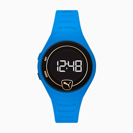 Forever Faster WH Blue Digital Watch, Blue/Blue, small