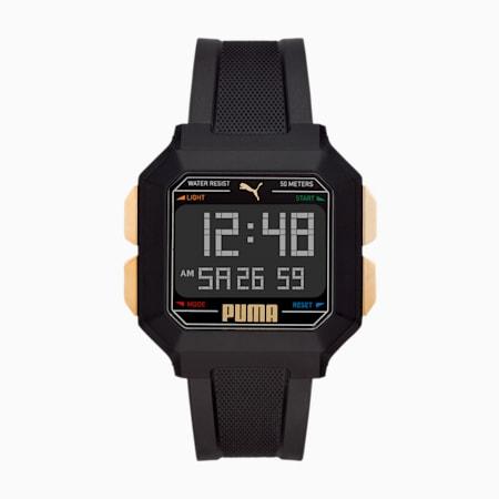 Remix WH Digital Watch, Black/Black, small