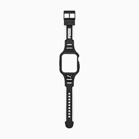 PUMA Apple Watch® Black Strap, Black/White, small