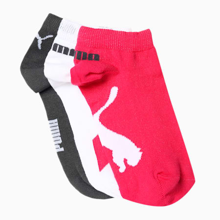 PUMA Lifestyle Unisex Sneakers Socks Pack of 3, Beetroot, small-IND