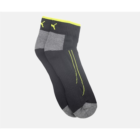 PUMA Performance Train Unisex Quarter Socks Pack of 2, Black, small-IND