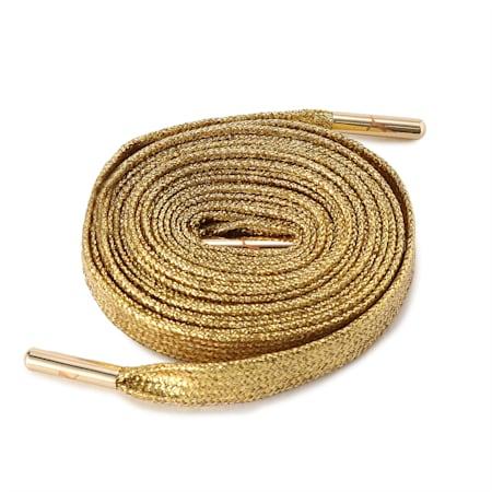 プーマ シューレース メタリックチップ ゴールド, Metallic Gold, small-JPN