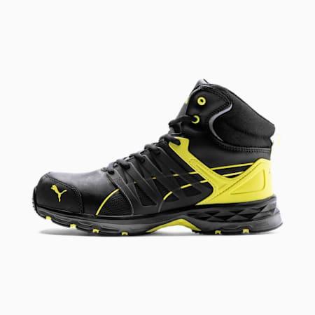 Scarpe antinfortunistiche Velocity 2.0 Mid S3 ESD uomo, black/yellow, small
