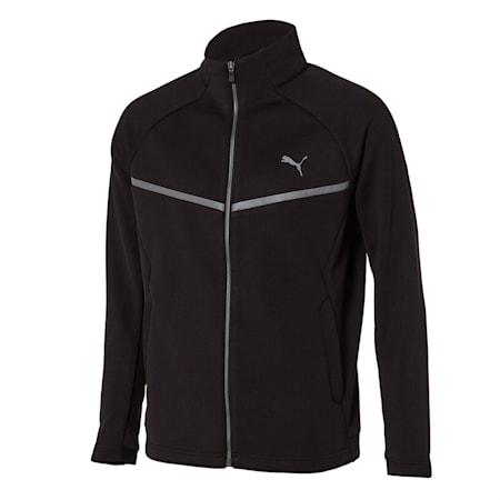 니트 기모 트레이닝 자켓, puma black, small-KOR