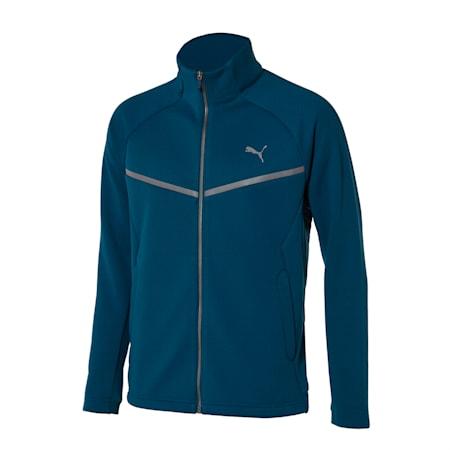 니트 기모 트레이닝 자켓, digi-blue, small-KOR